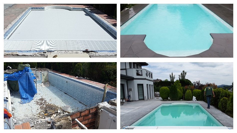 Rehabilitación de piscinas