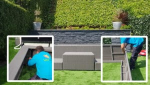 Proceso de instalación de piscina modular modelo Playa de Laguetto por VIO Jardín