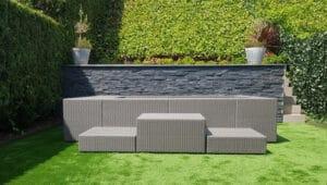 Piscina modular modelo Playa de Laguetto instalada por VIO Jardín